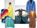 Плюшевый мишка: пушистые пальто и жакеты из цветного искусственного меха