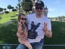 Очаровательная дочь Кристины Асмус и Гарика Харламова учит отца танцевать (ВИДЕО)