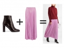 С какой обувью носить юбку зимой: простые примеры, которые ты легко повторишь