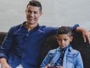 Криштиану Роналду показал подросшего сына в рекламе бренда детской одежды СR7 (ВИДЕО)