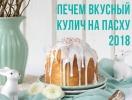 Пасхальные куличи: лучшие рецепты для праздничного стола