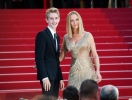 Как две капли: Ума Турман с сыном на модном показе в Нью-Йорке (ФОТО)