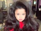 Вот это объем: 5-летняя девочка стала звездой Сети из-за роскошных волос