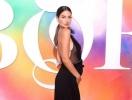 Модель Victoria`s Secret Лили Олдридж вышла на подиум на пятом месяце беременности (ФОТО)