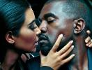 Ким Кардашьян призналась, что забыла о муже после рождения третьего ребенка