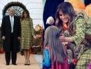 Дональд и Мелания Трамп устроили детям хэллоуинский праздник в Белом доме (ФОТО)