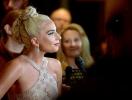 Леди Гага выбрала роскошное полупрозрачное платье на вручении Cinematheque Award (ФОТО)