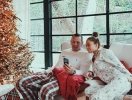 Дженнифер Лопес и Алекс Родригес с детьми украсили дом к Рождеству (ФОТО)