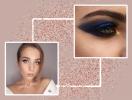 Праздничный макияж: как использовать глиттер