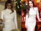 Алена Лавренюк и Мелания Трамп вышли в свет в одинаковых платьях (ЭКСКЛЮЗИВ)