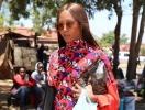 Нежная Наоми Кэмпбелл снялась в африканской фотосессии (ФОТО)