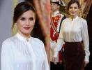 Королева Летиция впечатлила элегантным образом на приеме в Мадриде (ГОЛОСОВАНИЕ)