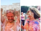 Праздник красок Холи: как прошло самое красочное событие лета (ФОТО)