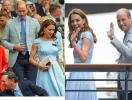 Кейт Миддлтон и принц Уильям на мужском финале Уимблдона: новый выход пары