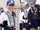 Кейт Миддлтон и принц Уильям приняли участие в парусных гонках The King´s Cup (ФОТО)