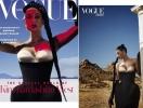 Еще один дебют: Ким Кардашьян впервые появилась на обложке Vogue Arabia и дала интервью мужу Канье Уэсту