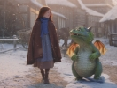 Популярно в Сети: рождественское видео о драконе и рыжей девочке (ВИДЕО)