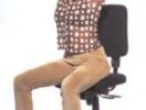 Как получить плоский живот, не выходя из-за стола