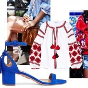 С чем носить вышиванку круглый год: обувь, сумки, аксессуары и верхняя одежда