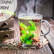 Витаминная бомба: 7 самых полезных рецептов чая, которые повысят ваш иммунитет (Инфографика)