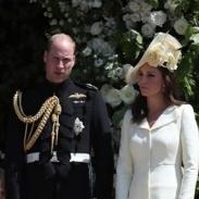 Первый выход в свет после родов: Кейт Миддлтон блеснула на свадьбе Гарри и Меган (ФОТО)