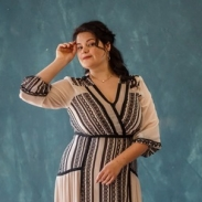 Практические советы Анны Рымаренко: как одеться стильно, если ты — девушка plus size