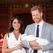 Меган Маркл и принц Гарри впервые показали сына (ФОТО+ВИДЕО)