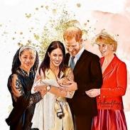 Новая версия: почему Меган Маркл и принц Гарри назвали сына Арчи