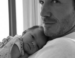 Дэвид Бекхэм показал новые снимки дочери. ФОТО