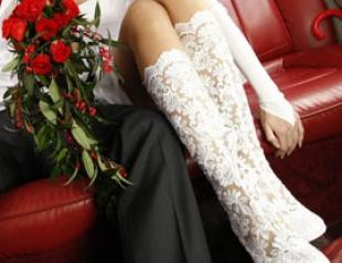 Модная свадебная обувь-2011
