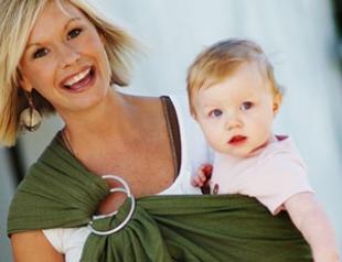 Для стильных мам: бэби-слинг и слингобусы