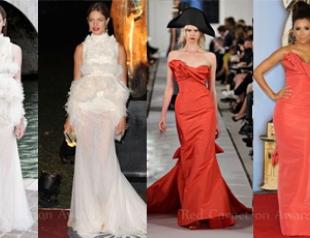 С подиума на бал: какие платья выбирают звезды