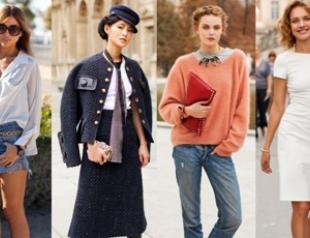 Street looks на Неделе моды в Париже