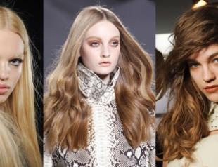 Самые модные оттенки волос: зимний сезон