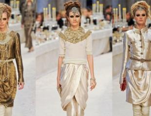 Новая коллекция Chanel «Париж-Бомбей»