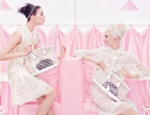 Louis Vuitton сделал моделей куклами