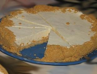 Сливочно-лимонный торт от Юлии Высоцкой