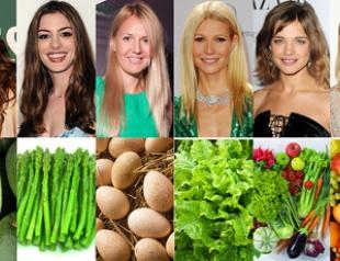 Звездные диеты для красоты волос