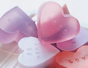 Рецепт фигурного мыла ко Дню Валентина
