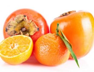 Оранжевая диета на основе хурмы и мандаринов