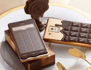 Ко Дню Валентина выпущен шоколадный смартфон