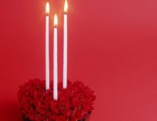 Мастер-класс: свечи ко Дню Валентина