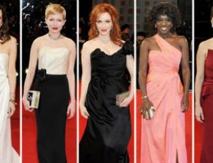 BAFTA 2012: красная дорожка и победители