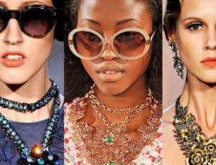 Модные аксессуары сезона весна-лето 2012