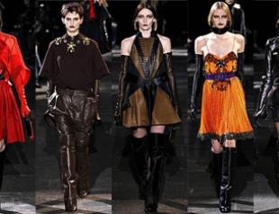 Неделя моды в Париже: наездницы Givenchy