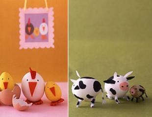 Делаем пасхальные игрушки вместе с детьми
