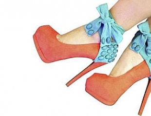 Кондомы превратили в аксессуары для туфель