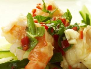 Простой рецепт экзотического салата с папайей