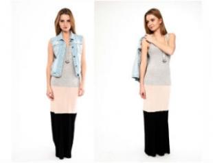 Мастер-класс стилиста: макси-платье из маек