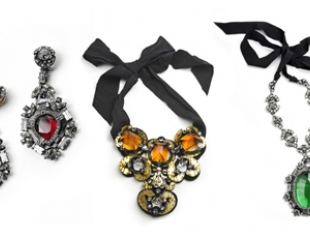 Lanvin выпустил коллекцию массивных украшений